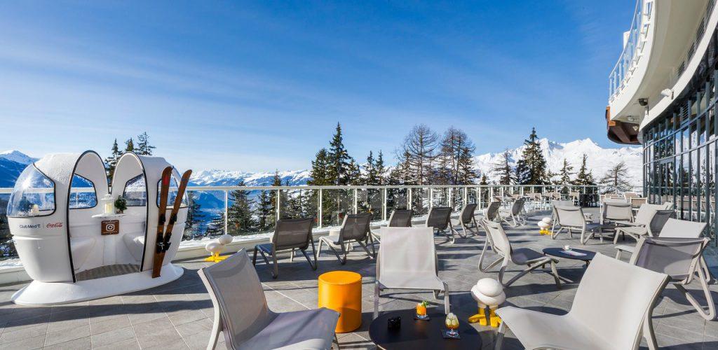 Club Med Franse Alpen Les Arcs Panorama - Club Med Gent Omnitravel